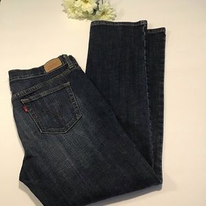 Levi's 505 straight leg denim size 10 short